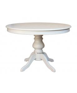 Table ronde laqueé réf. 446-BI