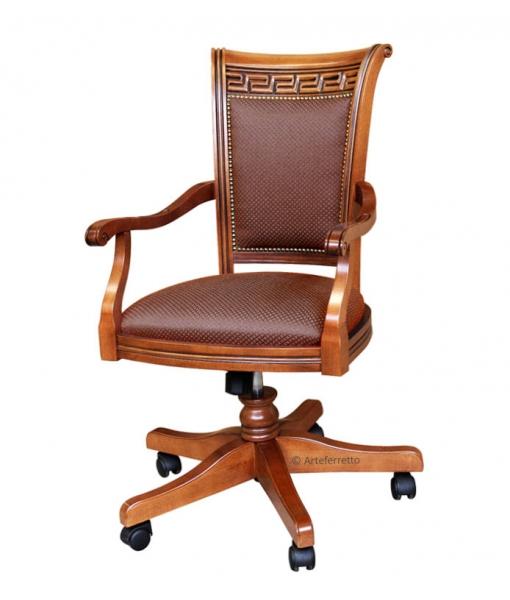 fauteuil de bureau classique tournant lamaisonplus. Black Bedroom Furniture Sets. Home Design Ideas