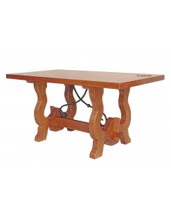 table de salle à manger style rustique