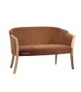 Canapé de salle d'attente bois et tissu réf. GM-541