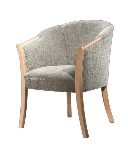 fauteuil classique enveloppant shelly lamaisonplus. Black Bedroom Furniture Sets. Home Design Ideas
