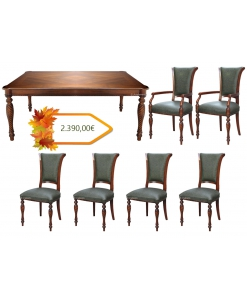 salle à manger complète, salle à manger, table et chaises, achat table et chaise