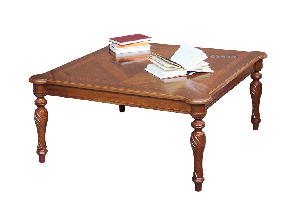 table basse carree en bois marquete lamaisonplus With good meuble porte manteaux pour entree 18 table basse carree de salon lamaisonplus