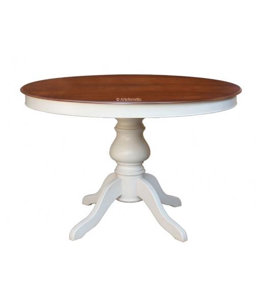 manger Table salle cm diamètre – 120 bicolore à 9YEID2eWH
