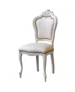 Chaise classique hêtre sculpté Mélodie Vénitienne