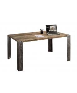 Table design fixe, table en chêne massif, table moderne, table pour salle à manger moderne