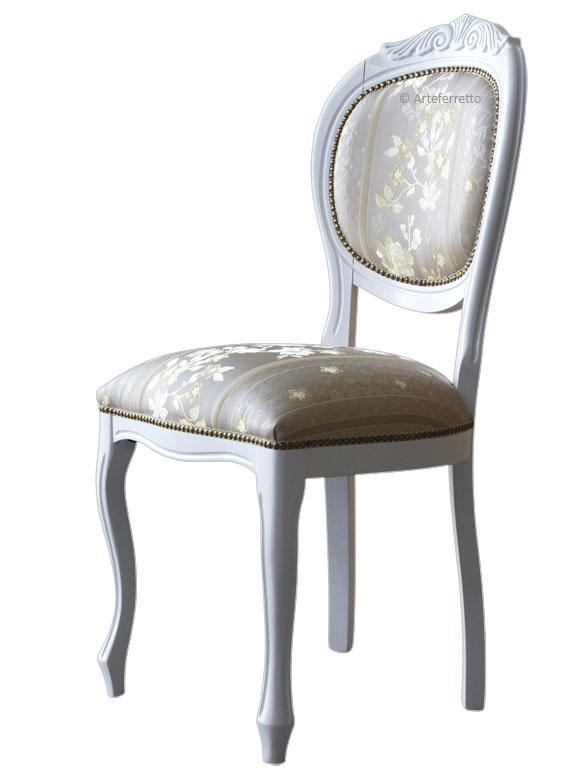 chaise rembourrée blanche chaise rembourr e blanche lamaisonplus