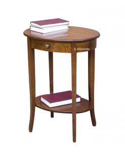 Table de salon haute avec tiroir
