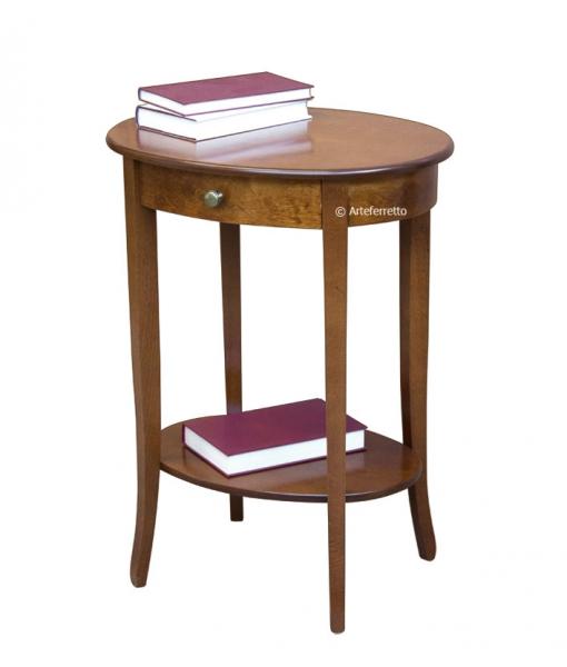 Table de salon haute avec tiroir ER-518_styl