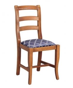 Chaise de repas assise rembourrée, chaise de repas, chaise pour salle à manger, chaise pour salle restaurant
