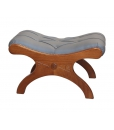Tabouret repose-pieds, petit tabouret en bois, achat tabouret pour fauteuil, fauteuil et tabouret assorti
