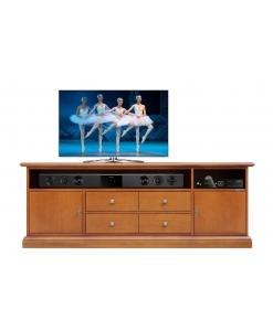 meuble tv, meuble tv classique, ameublement de style, ameublement classique, style classique, meuble tv avec tiroirs