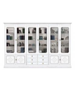 Bibliothèque vitrine modulaire coll. You Arteferretto