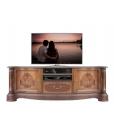 Meuble TV classique élégant, meuble de télévision,marqueterie, ronce naturelle, meuble télé, achat meuble pour télé