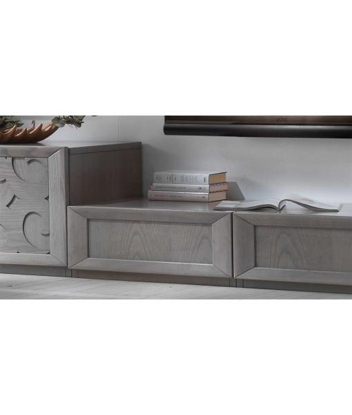 Dètail des tiroirs Ensemble meuble Tv Atlanta réf. ATL-01