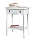 Console d'appoint bois massif, bois massif, console, table console, meuble console, console pour hall d'entrée