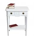 Console d'appoint bois massif, chevet, table d'appoint, bout de canapé