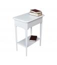 Console d'appoint bois massif, chevet, table téléphone, console