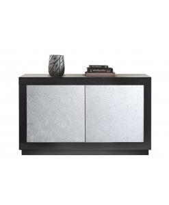 Buffet bas moderne Silver, buffet bas,meuble buffet moderne, push-pull, buffet pour salon moderne
