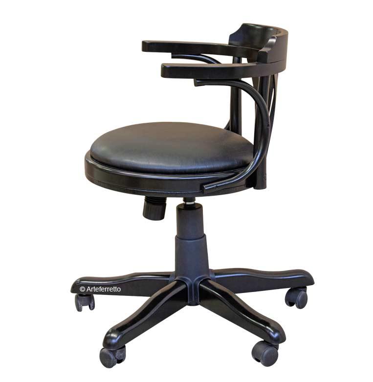 fauteuil de bureau avec roulettes lamaisonplus. Black Bedroom Furniture Sets. Home Design Ideas