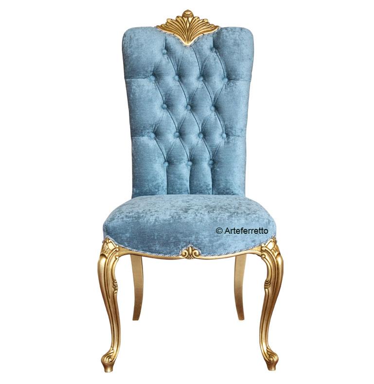 chaise de luxe design avec dossier capitonn lamaisonplus