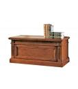 Coffre de rangement en bois style classique