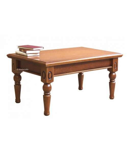 Table basse de salon classique en bois réf. ME-08