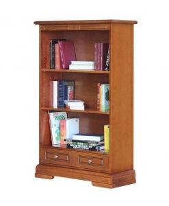 Bibliothèque de rangement, meuble bibliothèque, achat meuble bibliothèque, bibliothèque style classique en bois