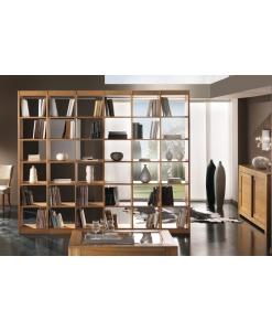 Bibliothèque grandes dimensions, bibliothèque moderne, bibliothèque contemporaine, bibliothèque niches
