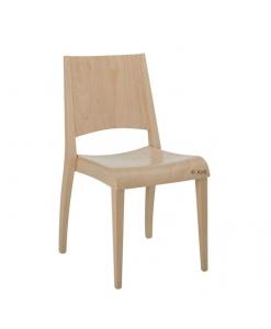 """Chaise hêtre massif """"Onwood"""", chaise hêtre massif, chaise en bois, chaise pour restaurant, mobilier contract, mobilier professionnel"""
