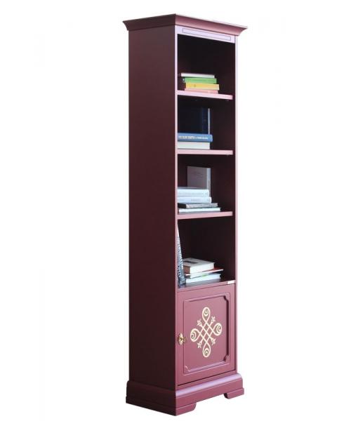 Bibliothèque colonne étroite Rubis réf. 4089-RU