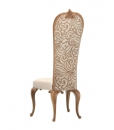 Chaise dossier haut, dossier haut, chaise dossier haut design, chaise dossier haut tissu