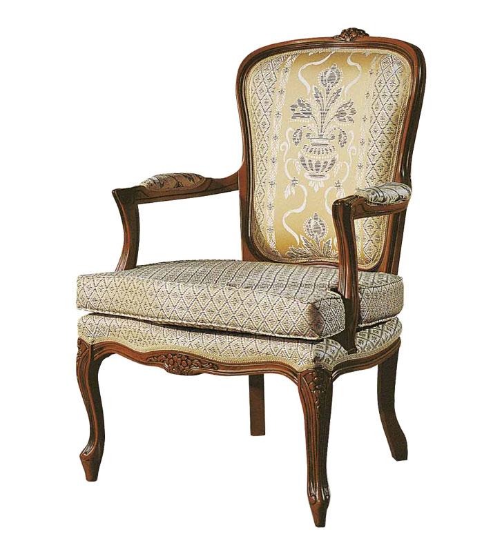 Fauteuil Style Louis XV Avec Coussin LaMaisonPlus - Fauteuil louis 15