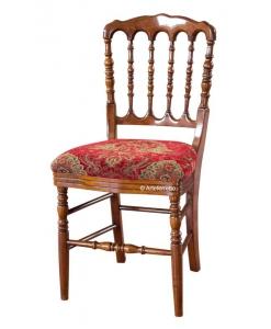Chaise de repas, bistrot, chaise de restaurant, chaise en bois