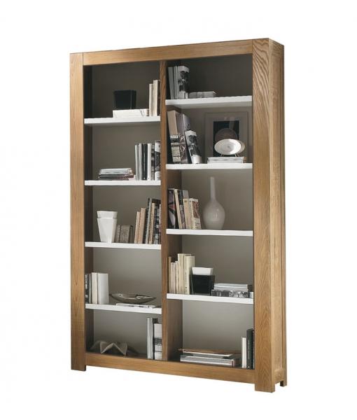 Bibliothèque rayonnage en bois de frêne réf. MG705