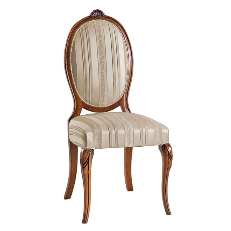 chaise classique dossier ovale lamaisonplus. Black Bedroom Furniture Sets. Home Design Ideas