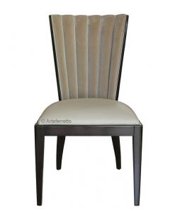 Chaise confort design, chaise design, chaise en bois, chaise style contemporain, chaise rembourrée
