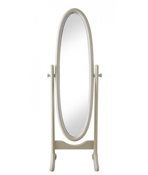 Miroir ovale sur pied - LaMaisonPlus