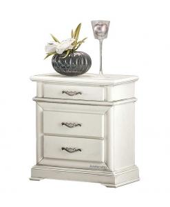 Table de chevet 3 tiroirs, chevet, chevet banc, table de chevet pour chambre, chambre à coucher
