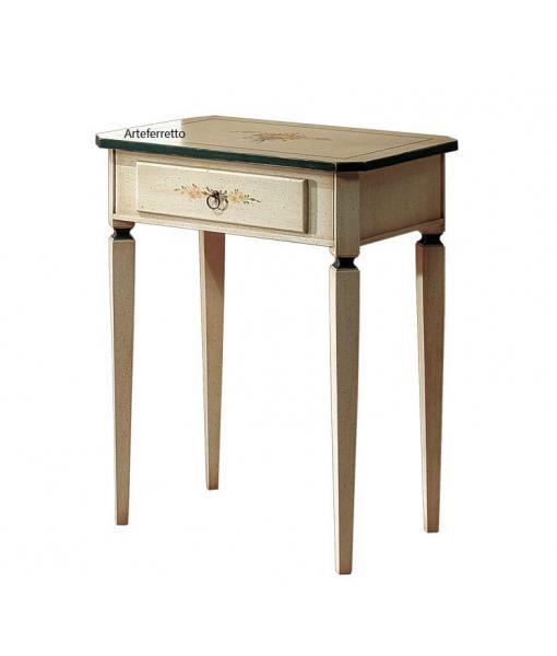 Petite table d'appoint avec tiroir réf. E-6691