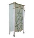 Meuble chiffonnier haut peint à la main, chiffonnier, meuble chiffonnier haut, chiffonnier avec tiroirs
