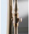 Miroir basculant inclinable sur pied, miroir blanc pour chambre, miroir basculant