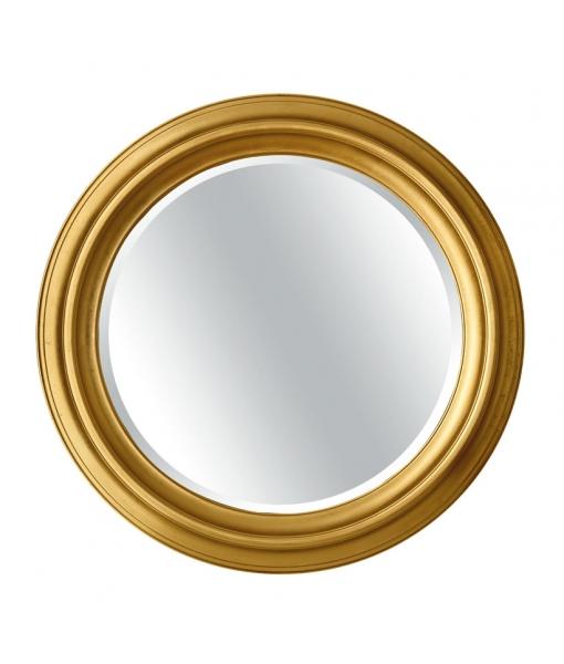 Miroir rond bois massif réf. DB-749