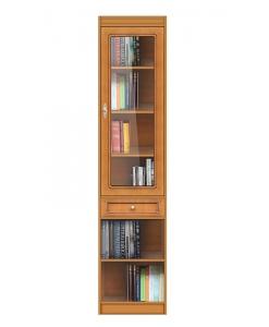 Meuble bibliothèque vitrée haute réf. EC-COM-M2
