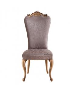 Chaise classique dossier haut, chaise pour locaux publics, chaise classique, chaise en bois, chaise de style