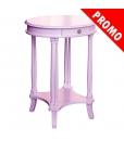 Petite table ovale lilas réf. 1614-LIL-promo