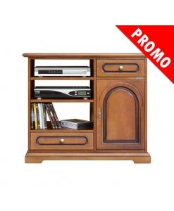 Meuble TV 1 porte 2 tiroirs, promo meuble tv, meuble tv petit prix, meuble tv pas cher