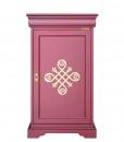 Meuble buffet 1 porte, rouge rubis, bahut petite taille, meuble buffet petites dimensions