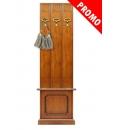 Vestiaire d'entrée largeur 50 cm avec coffre réf. 31-703-promo