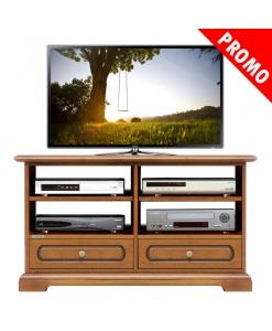 Meuble Tv 2 tiroirs et étagères réf. 3800-C-promo
